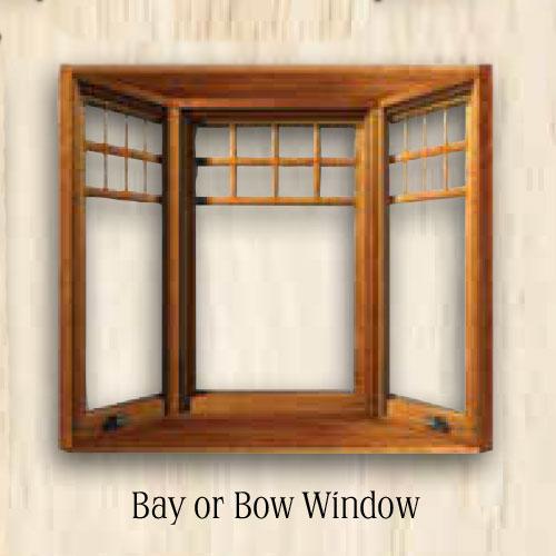Sierra Bay or Bow Window