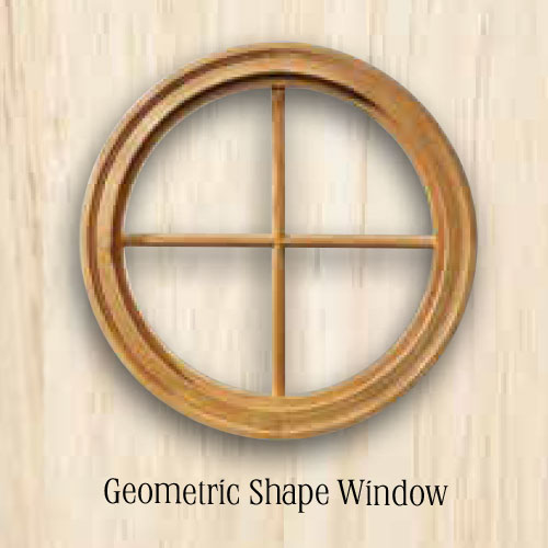 Sierra Geometric Shape Window. Replacement Windows