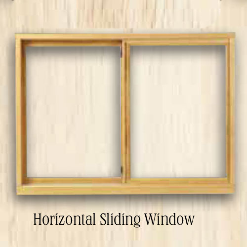 Sierra Horizontal Sliding Window and Replacement Window