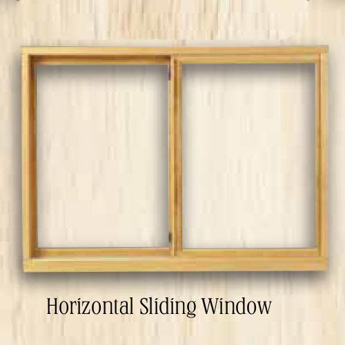Sierra Horizontal Sliding Window and Replacement Window