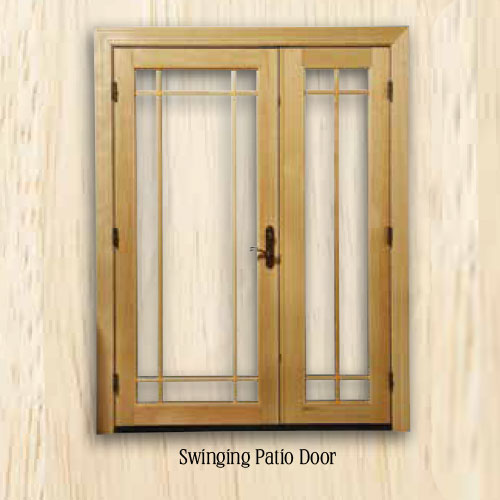 Sierra Swinging Patio Door for window replacement