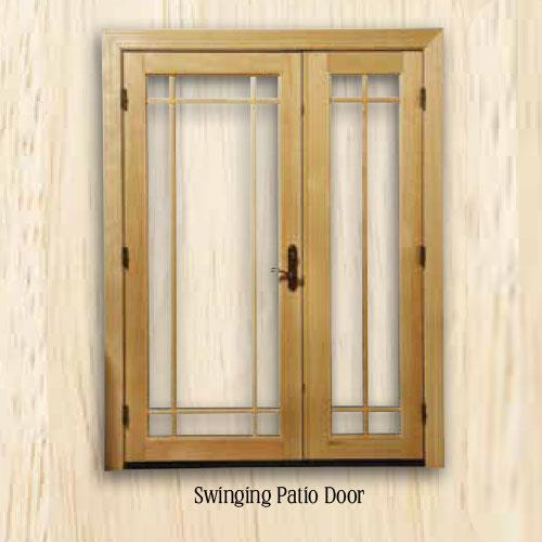 Sierra Swinging Patio Door